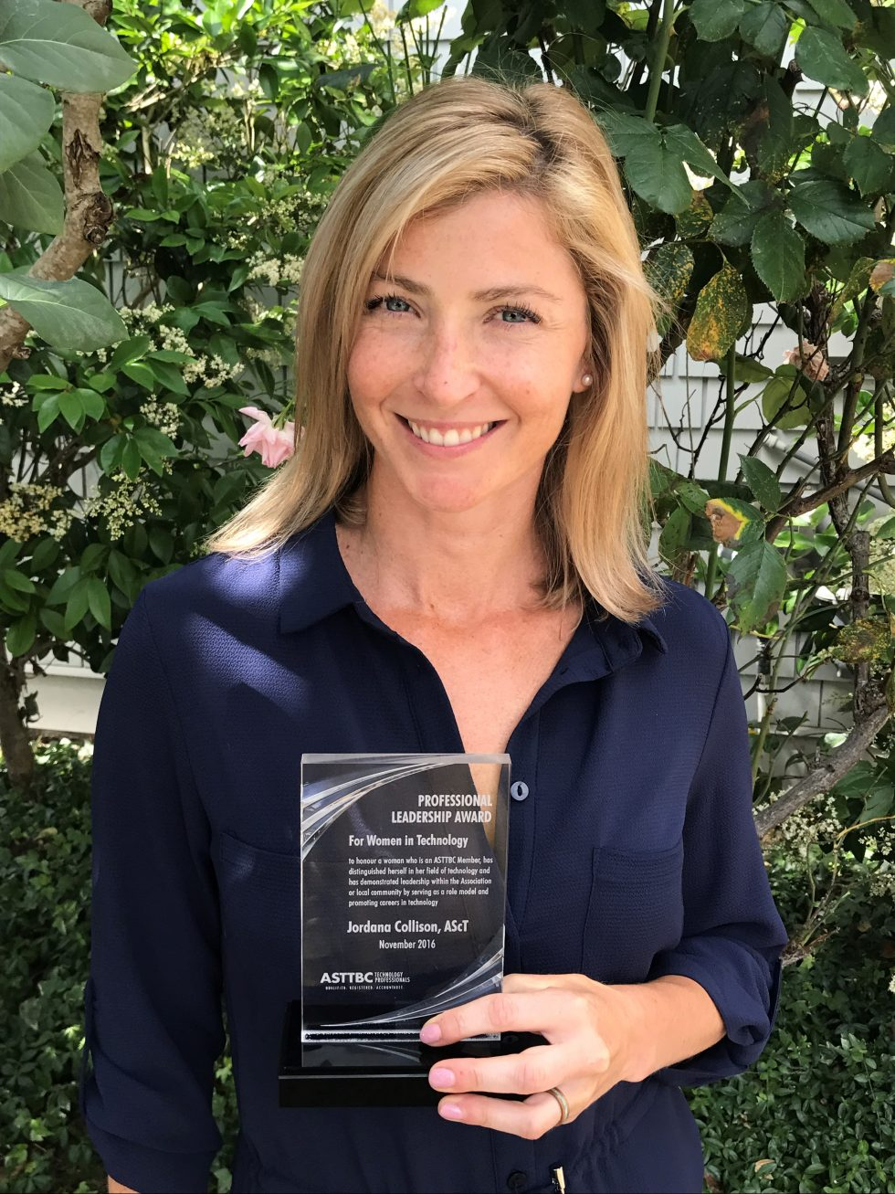 ASTTBC Professional Leadership Award