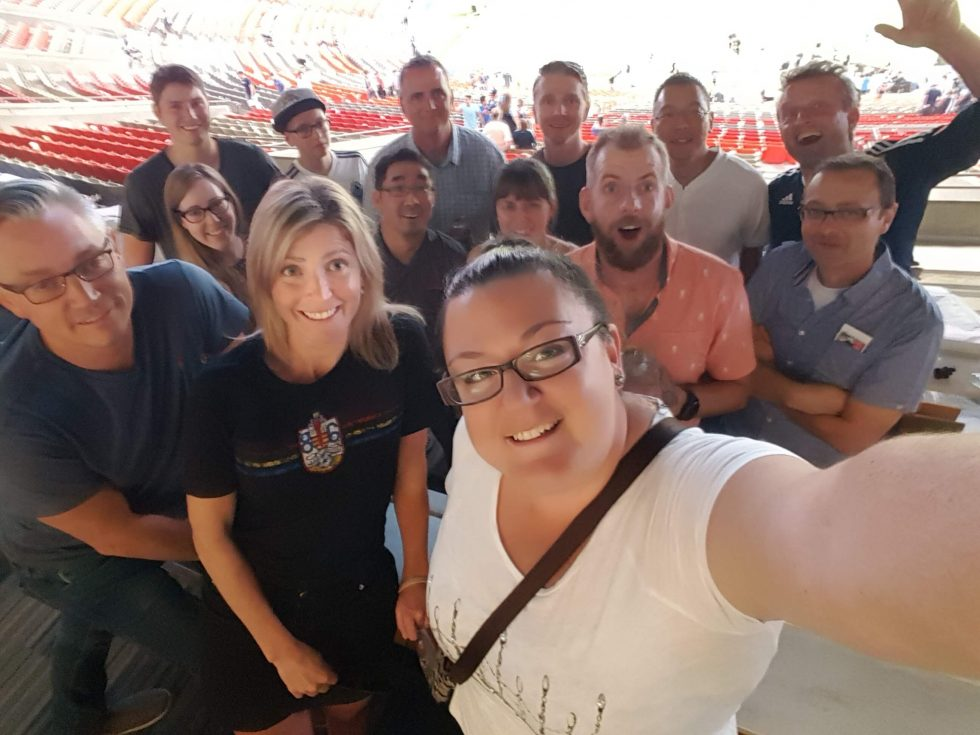 BCBS goes to a Whitecaps Game