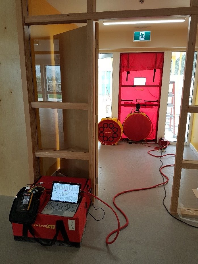 Passive House Air Tightness Testing