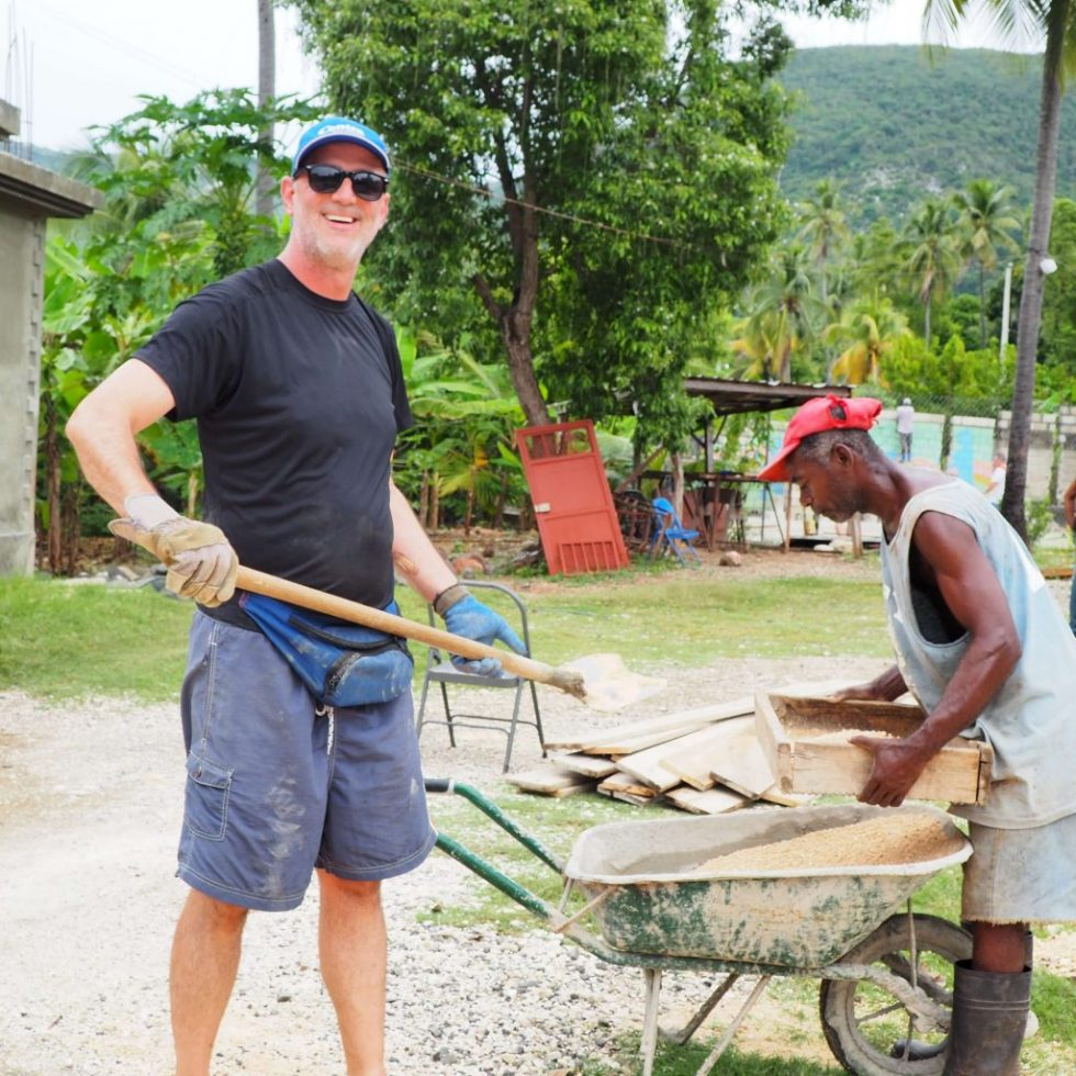 Andrew joins Centra Cares in Haiti
