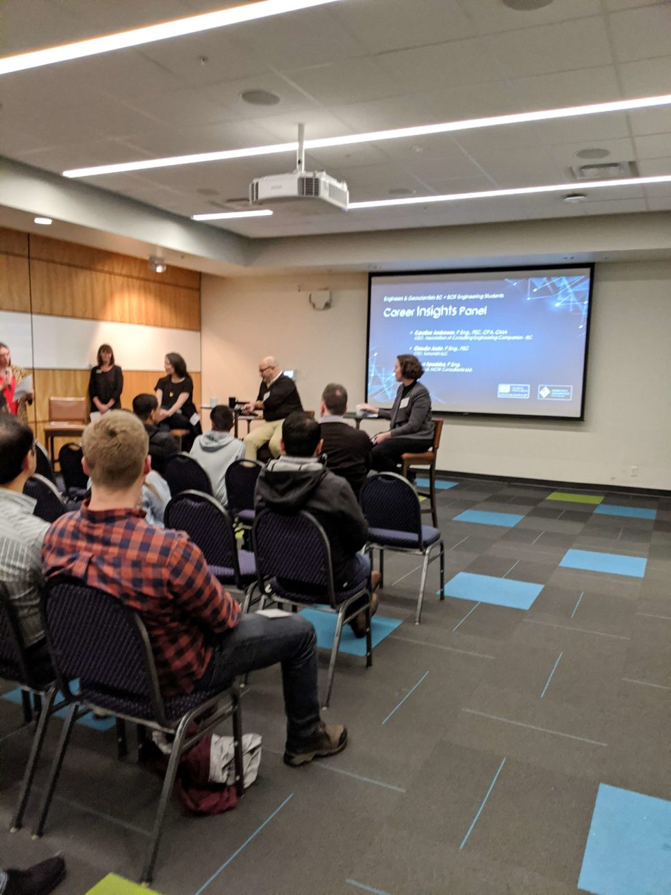 BCIT Engineering Students and Industry Networking Event